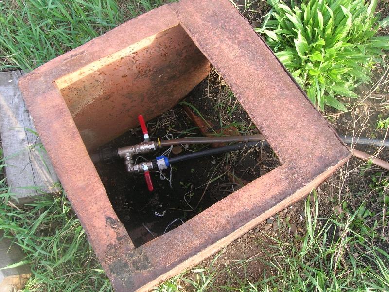 Ящик для разводки труб