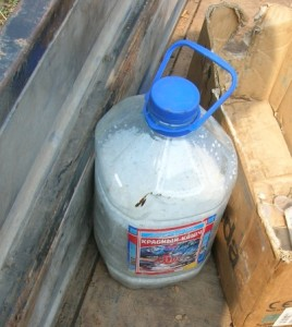 Крупная соль для засыпки в фильтр перед забиванием скважины иглы