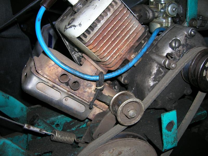 Двигатель крота своими руками