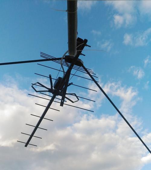UHF антенна для приема цифрового ТВ