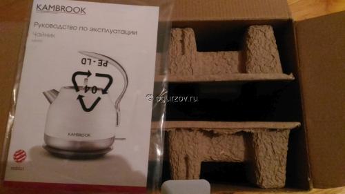 Внутри упаковки Kambrook ASK400