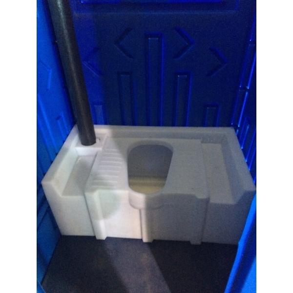 Эконом пластиковый туалет