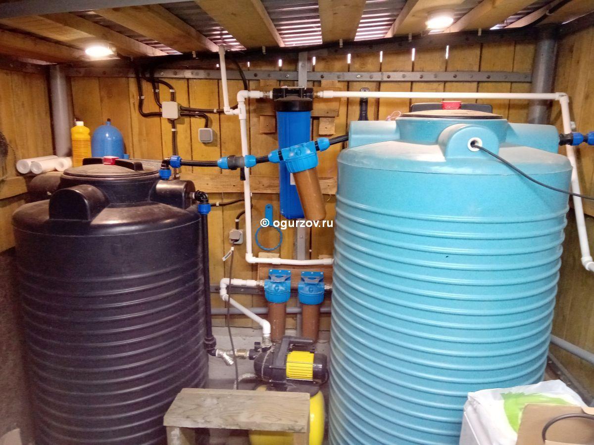 Моя бюджетная система очистки воды от железа для дачи