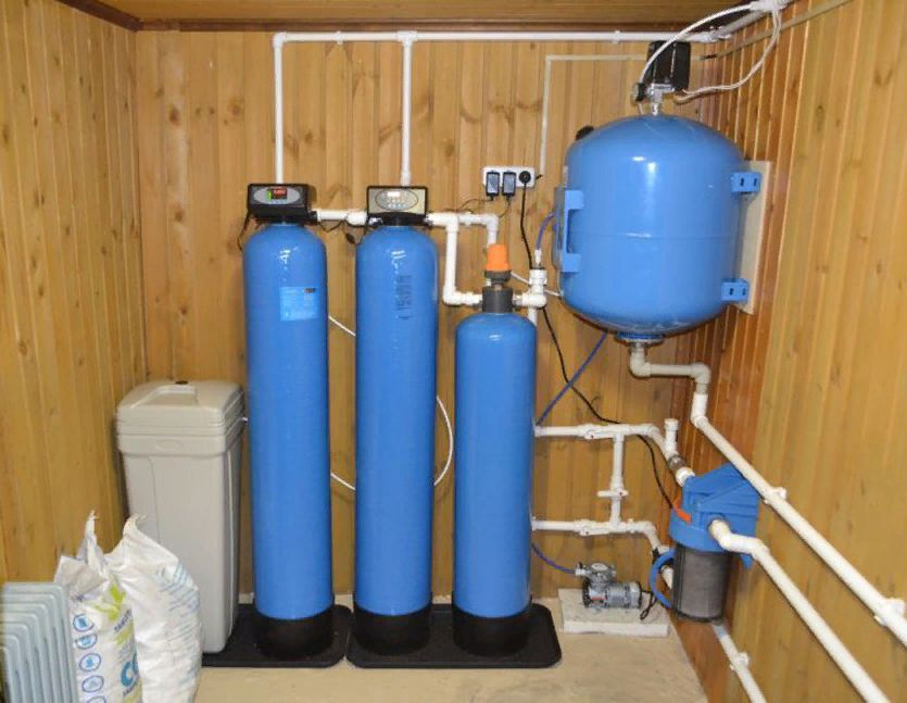 Автоматическая система очистки воды от железа